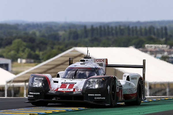 24h Le Mans 2017: Porsche im Freien Training an der Spitze