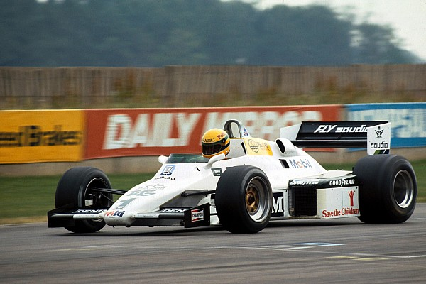 Formula 1 Galeri: Senna'nın Williams FW08C ile olan testi