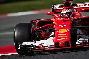 Formula 1 Testing report Barcelona F1 test: Raikkonen puts Ferrari on top on day two
