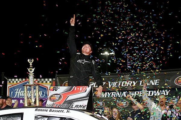 NASCAR Race report Ronnie Bassett Jr. earns first K&N East win in season opener