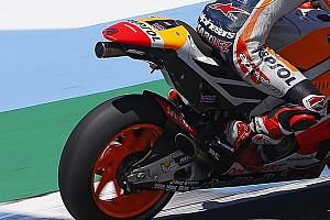 """Márquez y Pedrosa aseguran que el nuevo escape de Honda """"tiene potencial"""""""