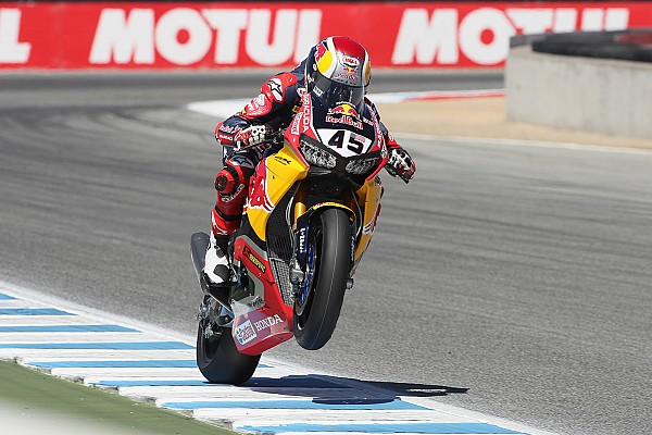 Gagne relishes chance to replace Hayden at Laguna Seca