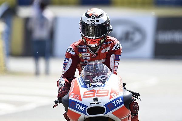 Finis keenam, Lorenzo selamat dari situasi sulit