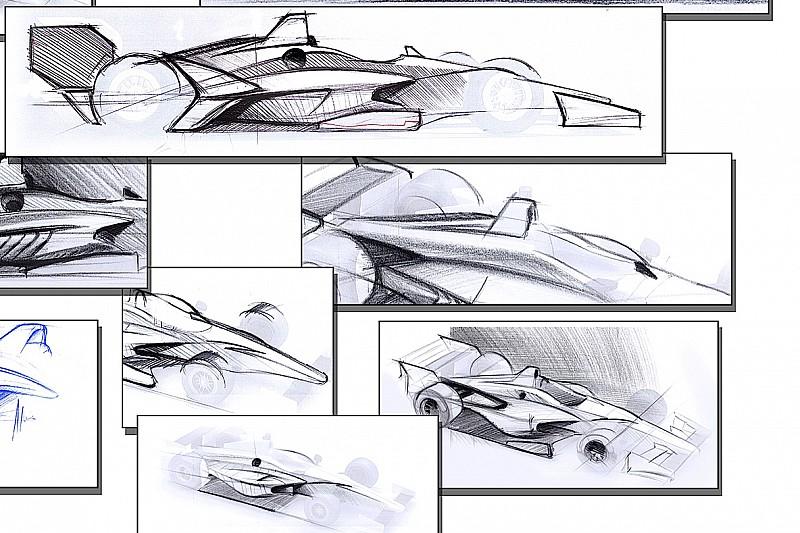 Опубліковано нариси машин IndyCar 2018 року