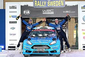 WRC Race report Østberg secures Sweden podium