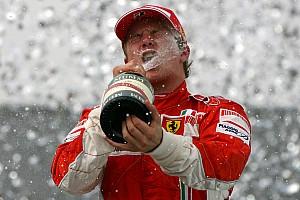 Formel 1 News Typisch Räikkönen: Platz in der Ferrari-Historie kein großes Thema