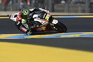 """MotoGP Nieuws Crutchlow verbijt pijn voor P8: """"Niet gedacht dat ik zou racen"""""""