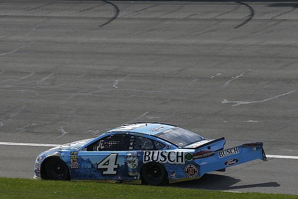 Harvick takes blame for crash: