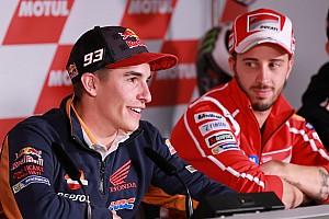 MotoGP Новость Маркес признался, что раньше не считал Довициозо соперником