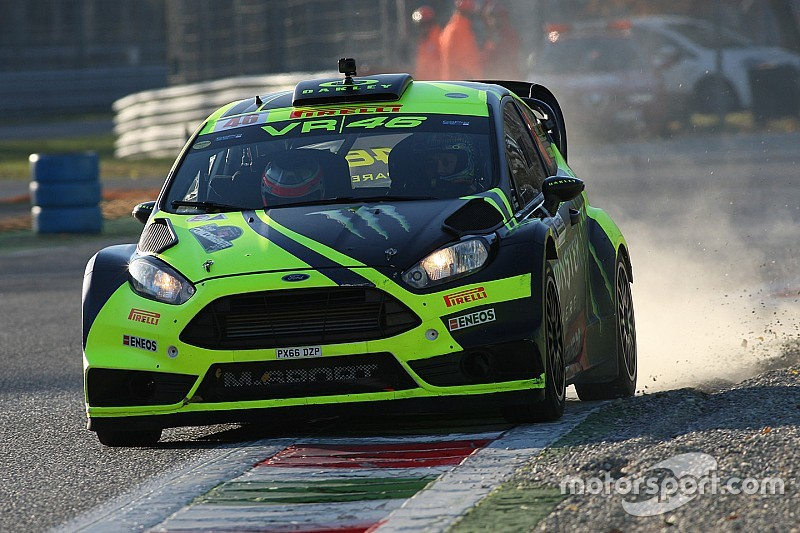 Sechster Sieg: Valentino Rossi gewinnt Monza-Rallye-Show 2017