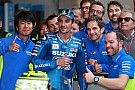 "MotoGP Em 1º pódio na Suzuki, Iannone desabafa: ""ouvi muito"""