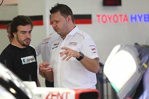"""WEC Toyota tevreden met Alonso: """"Een brave rookie"""""""