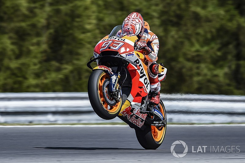 Brno MotoGP qualifying – as it happened
