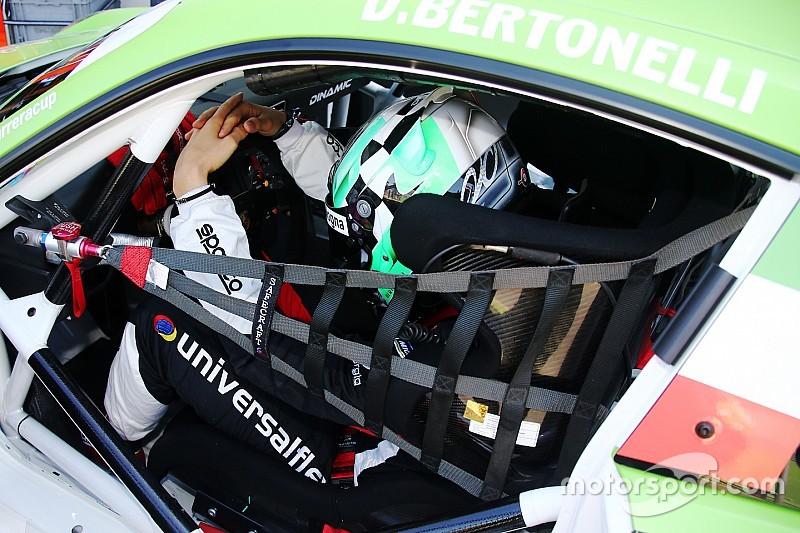 Carrera Cup Italia, Vallelunga: Bertonelli sul podio di gara 2 dopo la penalty a Berton