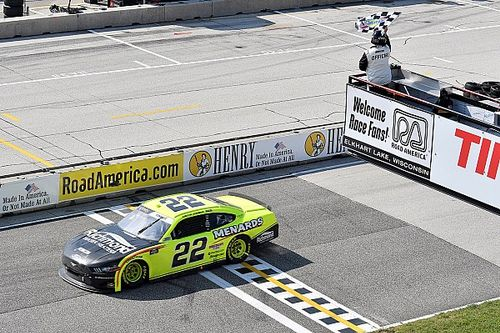 Cindric emerges as winner in crazy Road America Xfinity race