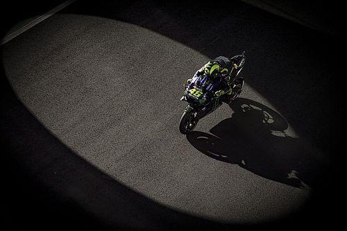 Az első futam után Rossi ismét kétségek közé került a folytatást illetően