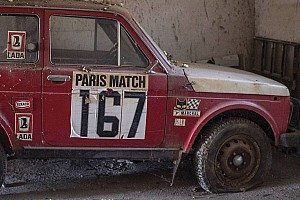 Ce Lada Niva 4x4 du Dakar 1981 vendu à 6% du prix espéré