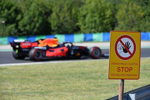 """Horner over langzame outlap Mercedessen: """"Onderdeel van het spel"""""""