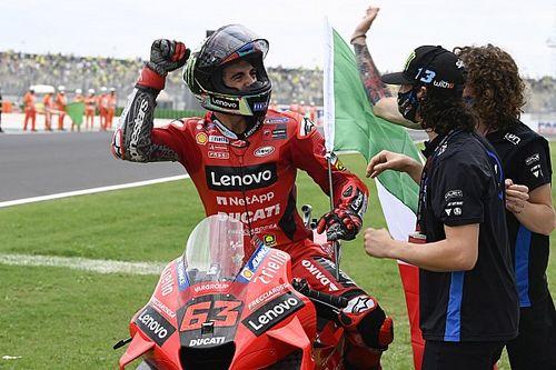 Hoe Bagnaia het remmen met de Ducati tot zijn grote kracht ontwikkelde