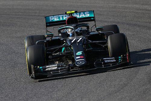 Bottas lidera la accidentada FP1 de la F1 en Rusia, con Pérez cuarto