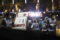F1: Grosjean pasará la noche en el hospital tras su accidente