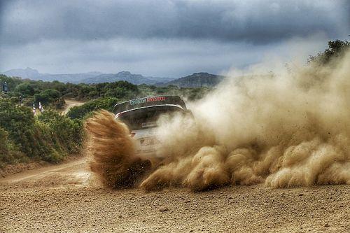 Las fotos más espectaculares del Rally de Italia-Cerdeña del WRC 2021