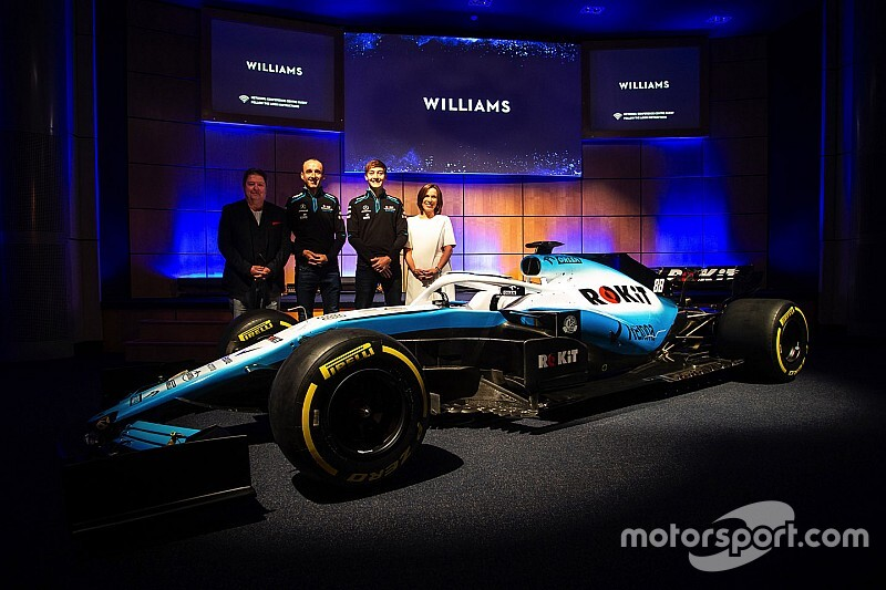 Com novo patrocinador, Williams revela carro para temporada 2019