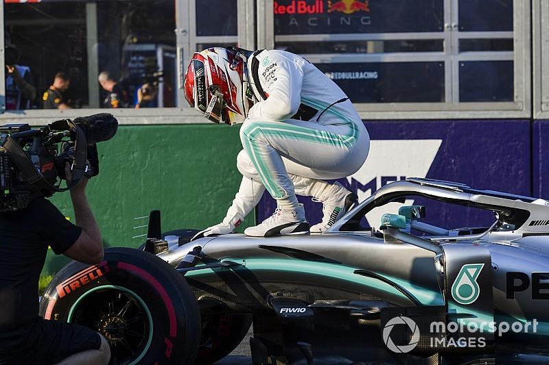 【動画】F1オーストラリアGP ハミルトンの予選PPオンボードカメラ映像