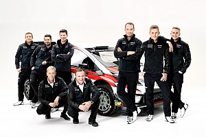WRC復帰2年目トヨタ。来週開催の開幕戦モンテカルロに臨む