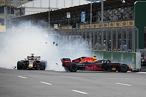 Red Bull: Verstappen elkerülhette volna a bakui ütközést