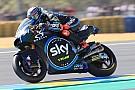 Moto2 Moto2 Le Mans:Bagnaia pakt eerste pole uit Moto2-carrière