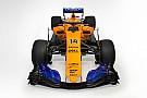 Формула 1 McLaren представила синьо-жовтий болід 2018 року