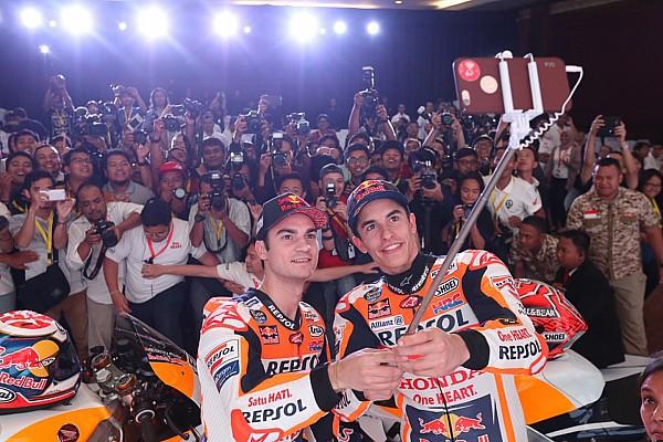 MotoGP Спеціальна можливість Відео: Маркес і Педроса - завзяті танцюристи