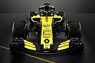 Формула 1 Renault представила болід Ф1 2018 року