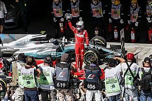 F1 Artículo especial La historia detrás de la foto: Vettel y Ferrari vuelven a sus días de gloria