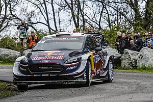 WRC Leg report Corsica WRC: Ogier sets up half-minute lead over Neuville