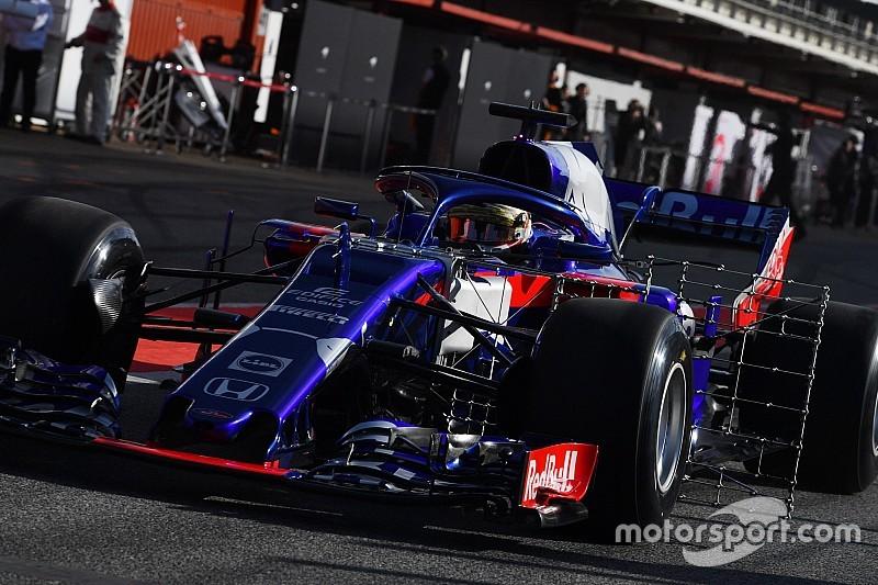 Gelael di Toro Rosso, Tost: