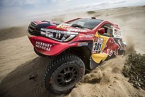 Dakar 速報ニュース 4日目に大ブレーキのトヨタ勢。四駆に不利なレギュレーションに不満