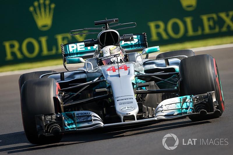 Hamilton, Mercedes'in yarış temposundan memnun