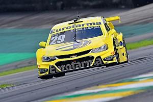 "Stock Car Brasil Últimas notícias Serra/Oliveira se surpreendem com pole ""inesperada"""