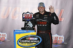 NASCAR Truck Breaking news Sauter to remain with GMS Racing in 2018