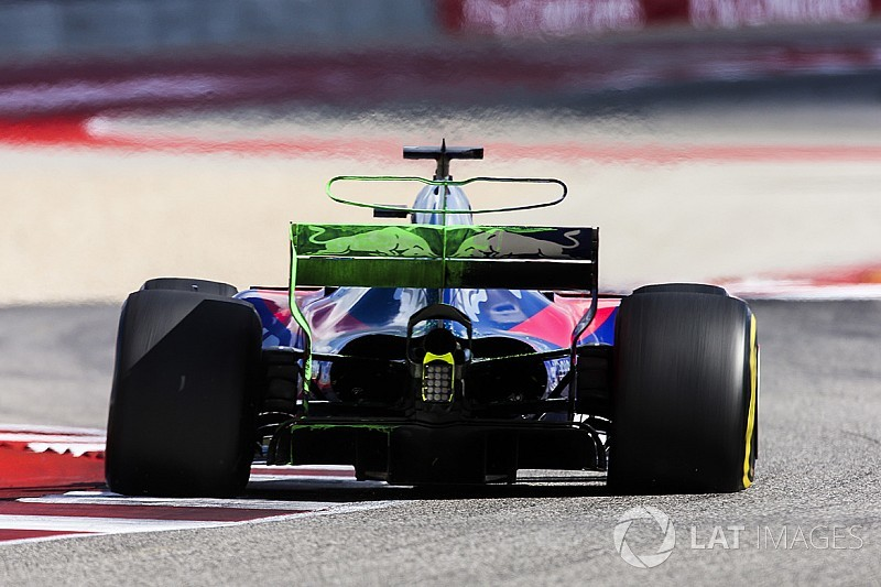 GALERÍA TÉCNICA: la actualización del Toro Rosso STR12 durante el 2017