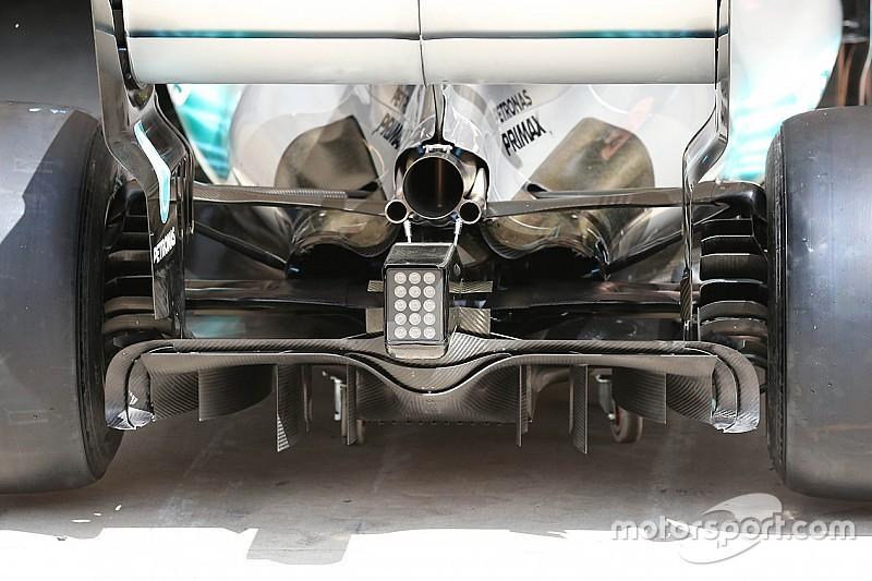 A Mercedes is a diffúzor átalakításában bízik Austinban