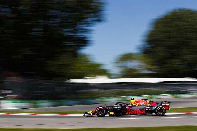 Verstappen manda en la segunda práctica en Canadá