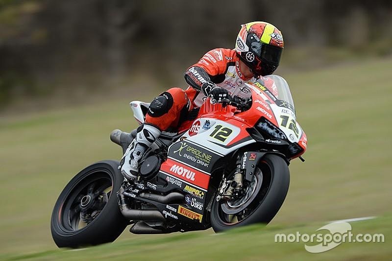 Xavi Forés costretto al ritiro in Gara 1 a Phillip Island