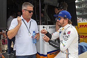 """IndyCar Breaking news De Ferran: """"I'd love to work with Alonso at Indy again"""""""