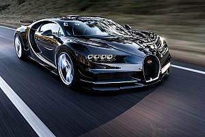 Auto Actualités La Bugatti Chiron n'échappe pas au rappel!