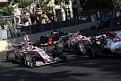 Formule 1 Pérez: Force India m'a dit qu'Ocon était 100% fautif à Bakou