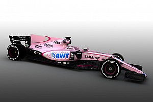 Formula 1 Breaking news Force India reveals new pink colour scheme