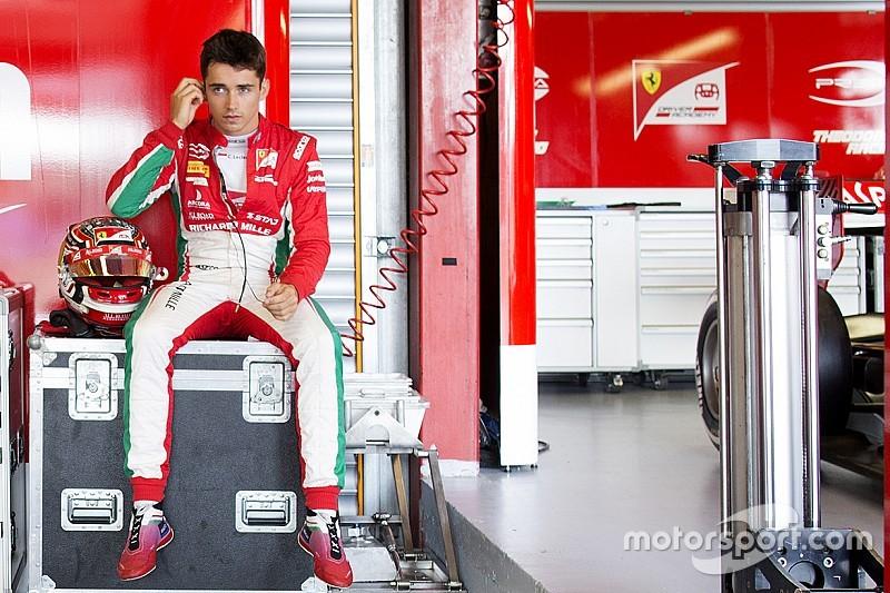 """Sette Câmara vê como """"estranho"""" domínio de Leclerc na F2"""